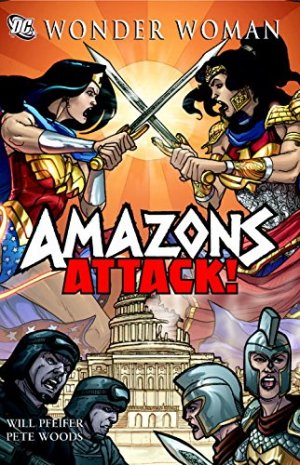 Wonder Woman - Amazons Attack édition TPB hardcover (cartonnée)