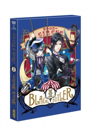 Black Butler - Book of Circus édition Combo Blu-ray/DVD