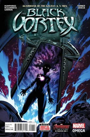 Guardians of the Galaxy and the X-Men - The black vortex Omega # 1 Issues V1 (2015)