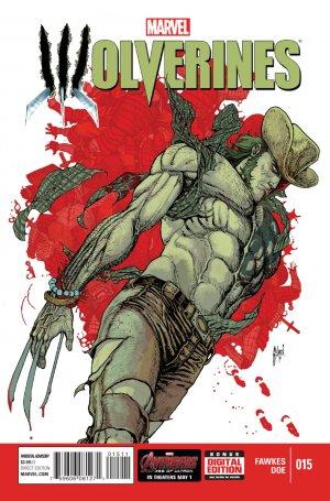 La mort de Wolverine - Wolverines # 15 Issues V1 (2015)