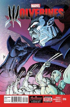 La mort de Wolverine - Wolverines # 16 Issues V1 (2015)