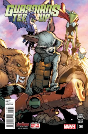 Guardians Team-up 5 - Issue 5