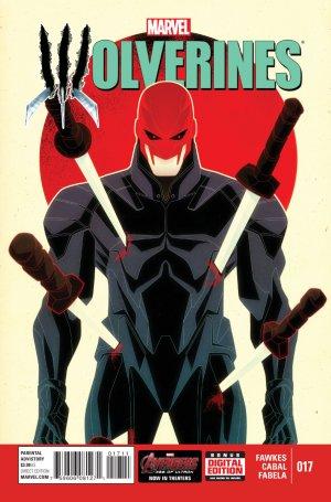 La mort de Wolverine - Wolverines # 17 Issues V1 (2015)