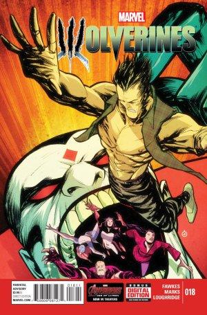 La mort de Wolverine - Wolverines # 18 Issues V1 (2015)