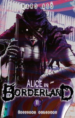 couverture, jaquette Alice in Borderland 11  (Delcourt Manga)
