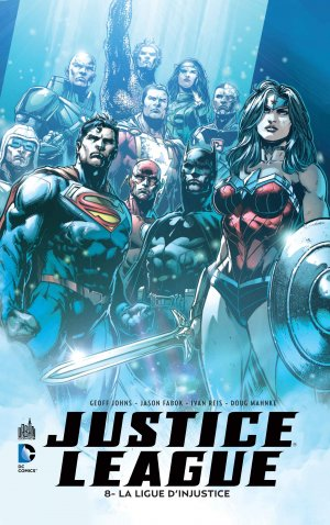 Justice League # 8 TPB hardcover (cartonnée)