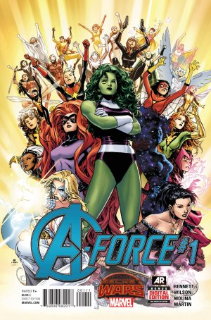 A-Force édition Issues V1 (2015)