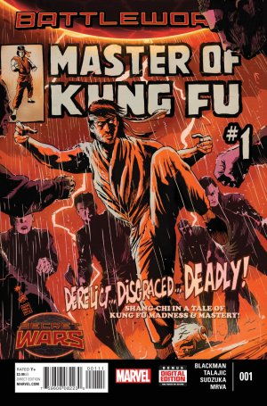 Master of Kung Fu édition Issues V2 (2015)