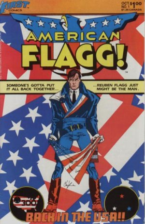 American Flagg # 1 Issues