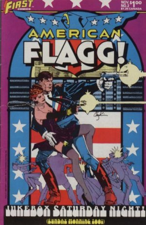 American Flagg # 2 Issues