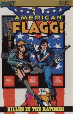 American Flagg # 3 Issues
