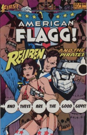American Flagg # 4 Issues