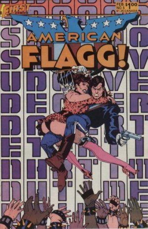 American Flagg # 5 Issues