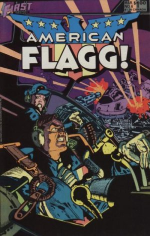 American Flagg # 6 Issues