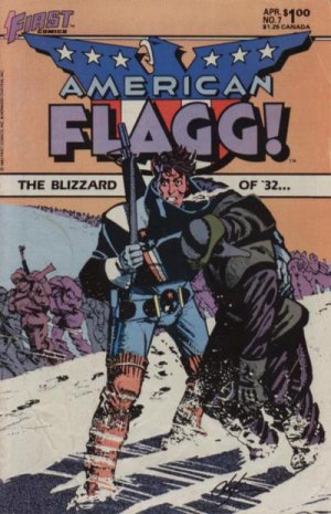 American Flagg # 7 Issues