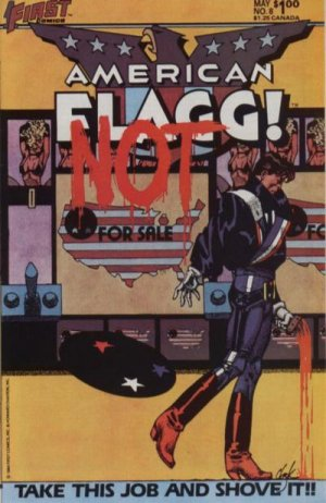 American Flagg # 8 Issues