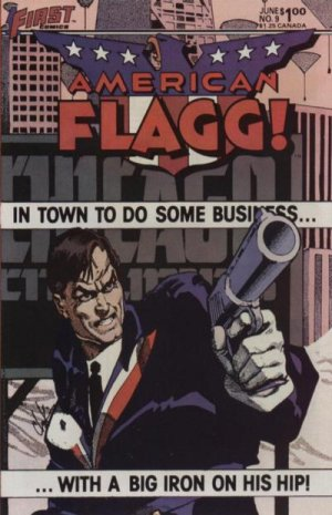 American Flagg # 9 Issues
