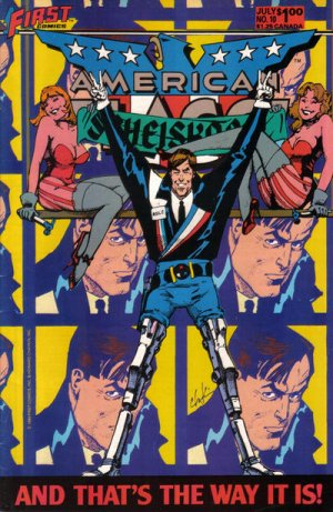 American Flagg # 10 Issues