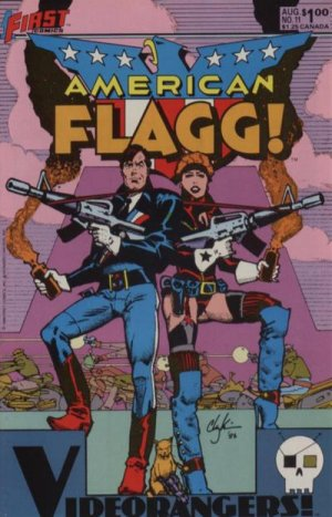 American Flagg # 11 Issues
