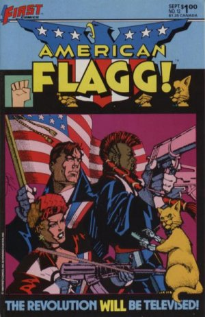 American Flagg # 12 Issues