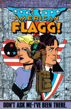 American Flagg # 13 Issues