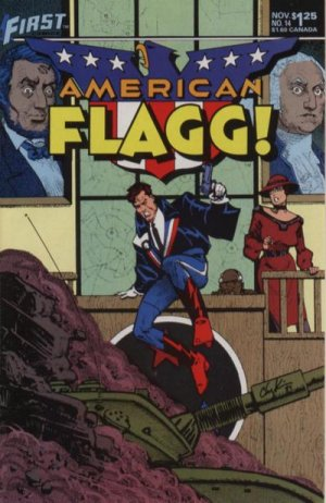 American Flagg # 14 Issues