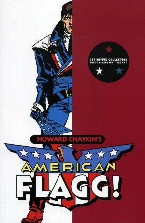 American Flagg édition TPB softcover (souple)