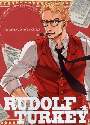 couverture, jaquette Rudolf Turkey 4  (Komikku Editions)