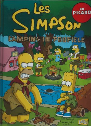 Les Simpson édition TPB Hardcover - Edition Picarde (2014)