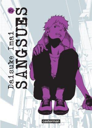 couverture, jaquette Sangsues 3  (casterman manga)