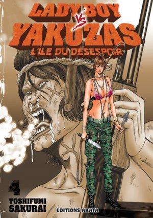 couverture, jaquette Ladyboy vs. yakuzas 4  (Akata)