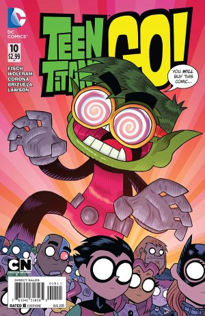 Teen Titans Go ! # 10 Issues V2 (2014 - Ongoing)
