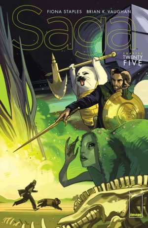 Saga # 25 Issues (2012 - Ongoing)