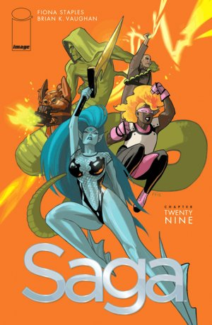 Saga # 29 Issues (2012 - Ongoing)