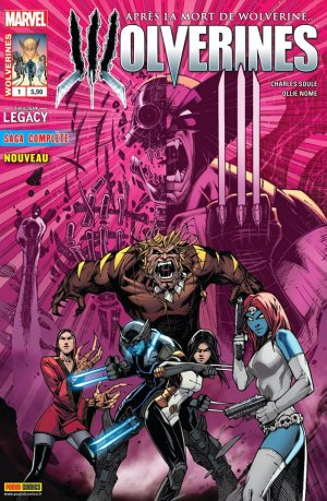 Death of Wolverine - The Logan Legacy # 1 Kiosque (2015)