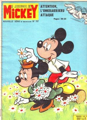 Le journal de Mickey 737