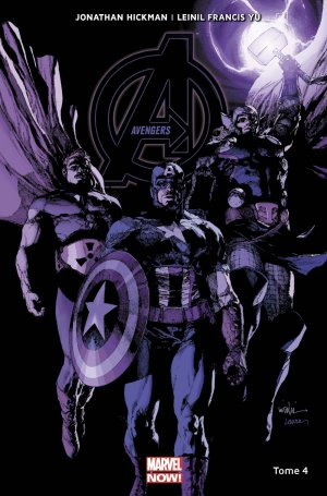 Avengers # 4 TPB Hardcover - Marvel Now! - Issues V5
