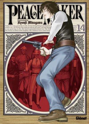 couverture, jaquette PeaceMaker 14  (Glénat Manga)
