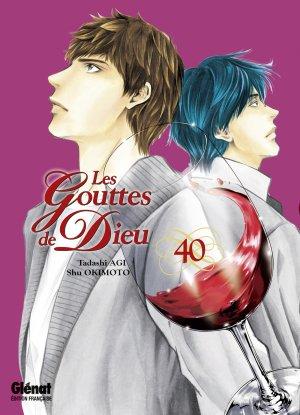 couverture, jaquette Les Gouttes de Dieu 40  (Glénat Manga)