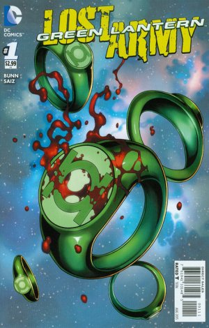 Green Lantern - The lost army édition Issues V1 (2015)
