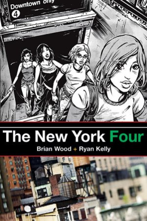 New York Four édition TPB softcover (souple)