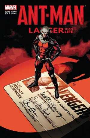 Ant-Man - Larger Than Life édition Issues V1 (2015)