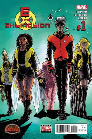 E Is For Extinction édition Issues V1 (2015)