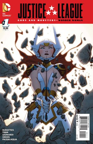 Justice League - Gods and Monsters - Wonder Woman édition Issue (2015)