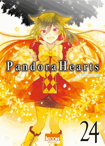 couverture, jaquette Pandora Hearts 24  (Ki-oon)
