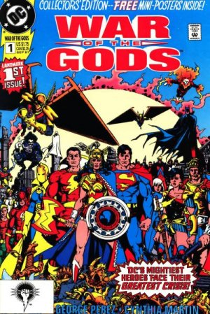 War of the Gods édition Issues
