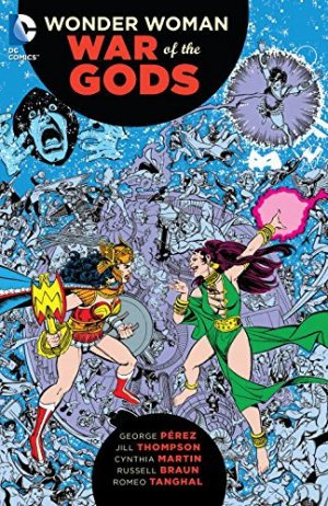 Wonder Woman - War of the Gods édition TPB softcover (souple)