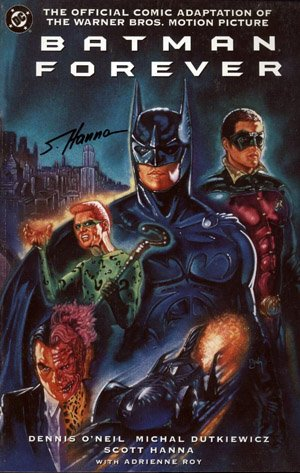 Batman Forever - The Official Comic Adaptation of the Warner Bros. Motion Picture # 1 TPB softcover (souple)