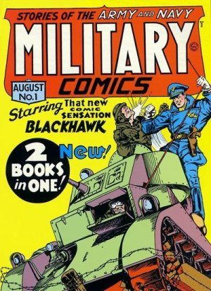 Military Comics édition Issues V1 (1941 - 1945)