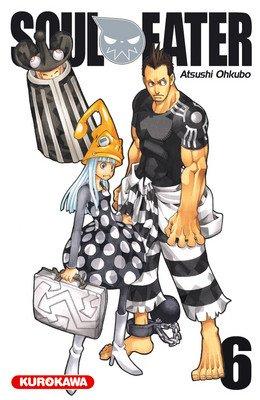 couverture, jaquette Soul Eater 6  (Kurokawa) Manga